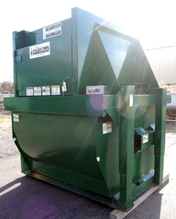 30-34-yard self-contained compactor
