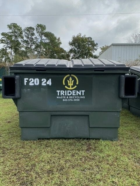 Trash and waste container