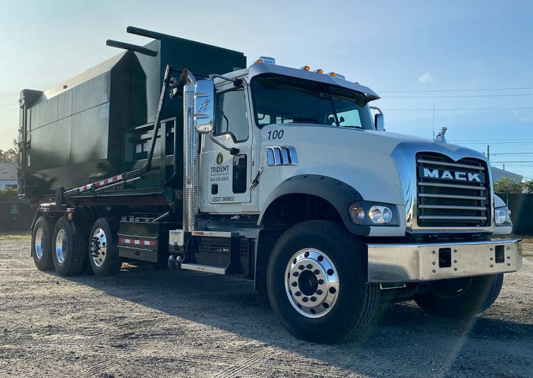 Trident Waste SC truck wth compactor